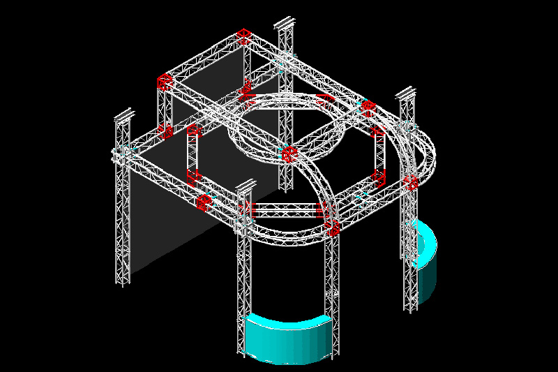 How Important The Truss Fittings In A Stage Truss Structure